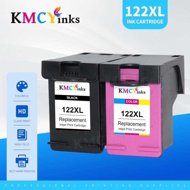 Чернильные картриджи KMCYinks 122, картриджи 122 XL для HP122 для принтеров HP122XL 1510 2050 1000 1050 1050A 2000 2050A 2540 3000 3050 3052A