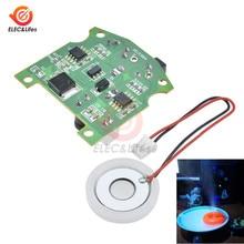 D20mm 113KHz Ultrasonic Mist Maker Ceramic Humidifier Atomizing Sensor Module DIY Kit Atomizer 3.7 12V