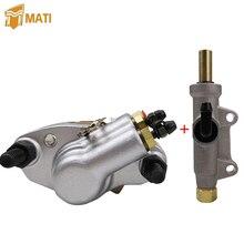 Pinça de freio traseiro e freio traseiro cilindro mestre bomba para polaris diesel 455 sportsman 335 400 500 trabalhador 335 500