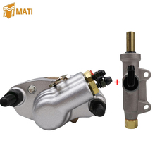 Rear Brake Caliper and Rear Brake Master Cylinder Pump for Polaris Diesel 455 Sportsman 335 400 500 Worker 335 500