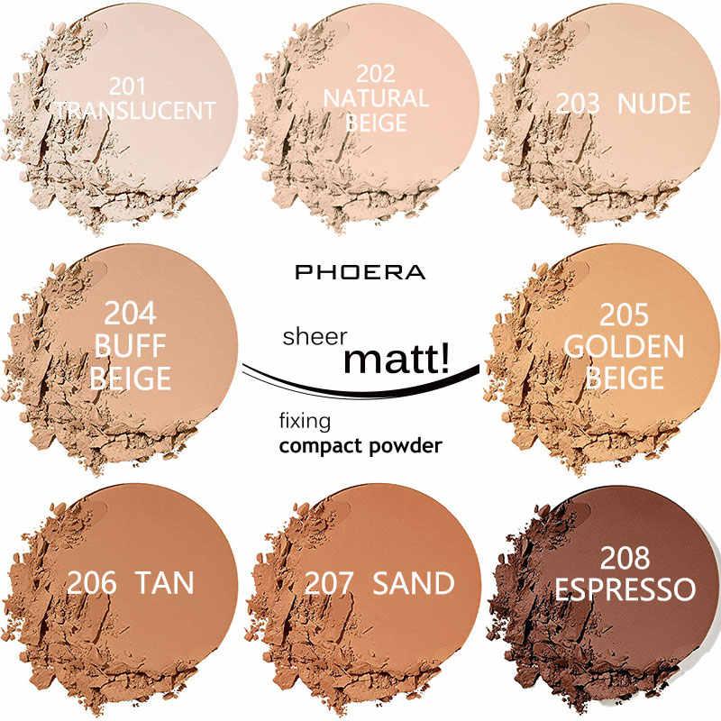8 Colors Brand Facial Powder Oil Control Base Make Up Contour Powder Foundation Concealer Women Beauty Makeup Comestics TSLM2