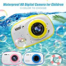 Подводная камера для детей 2 дюймов decogen игрушка и подарок 12MP HD водонепроницаемая цифровая камера 4X цифровой зум мини Экшн-камера