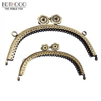 10Pcs/lot wholesale Metal Clasp Purse for Clutch Bag Handles Frame DIY  Accessories 8.5cm/12.5cm /16.5cm