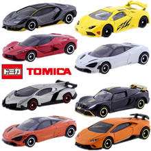 Discount Tomica Tomy Racing Sports car SUV motorcycle plane Vehicles HONDA Porsche TOYOTA cars metal Diecast model baby toys(China)