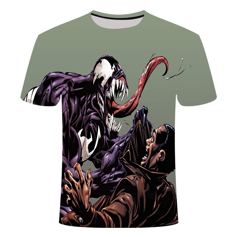 "Новинка, Мужская Футболка Venom, футболка ""Марвел"", 3D принт, футболка s, мужская, женская, Повседневная футболка, футболка для фитнеса, футболки, топы - Цвет: TX-039"