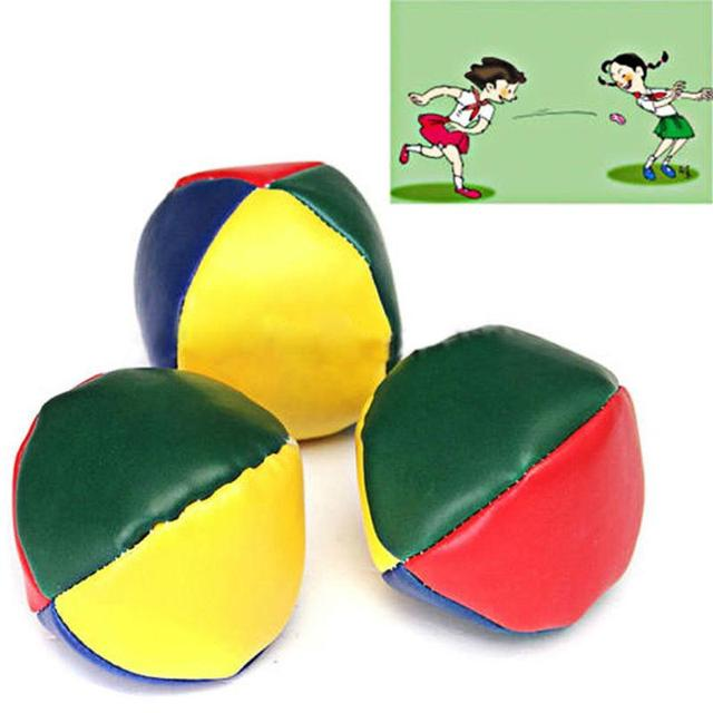1PC Juggling Balls Set Classic Bean Bag Juggle Magic Circus Beginner Children Kids Toy Balls Kids Interactive Toys Baby Gift