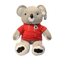 1pc 60/80CM High Quality Sweatshirt Koala Plush Toys Lovely Animal Stuffed Simulation Pillow for Children Baby Birthday Gifts