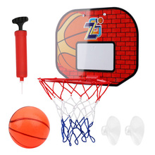Basketball Board Box Set Backboard Hoop Mini Children Indoor Sports Ball Game for Outdoor Exercise Sport Ornaments