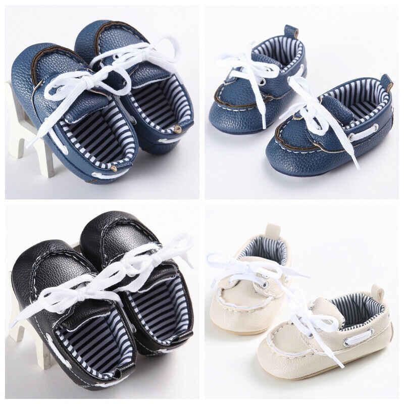 Zapatillas de bebé para niños pequeños zapatos de cuna de suela suave para bebés y niñas recién nacidos a 18 meses