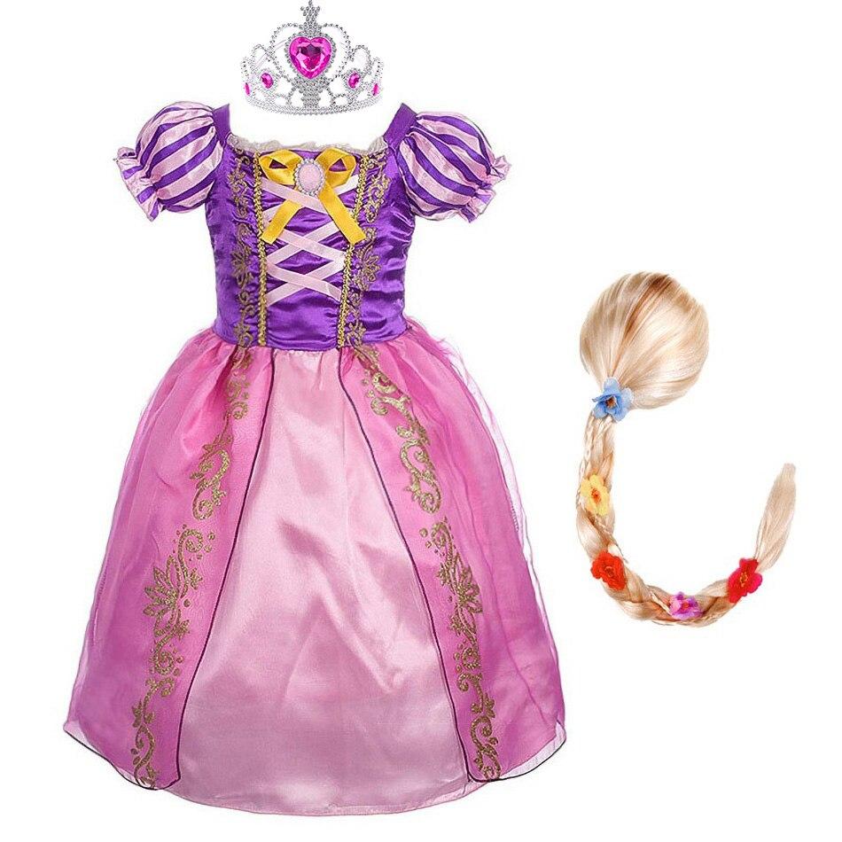 Rapuntsel tegelaskuju kostüüm lastele 5