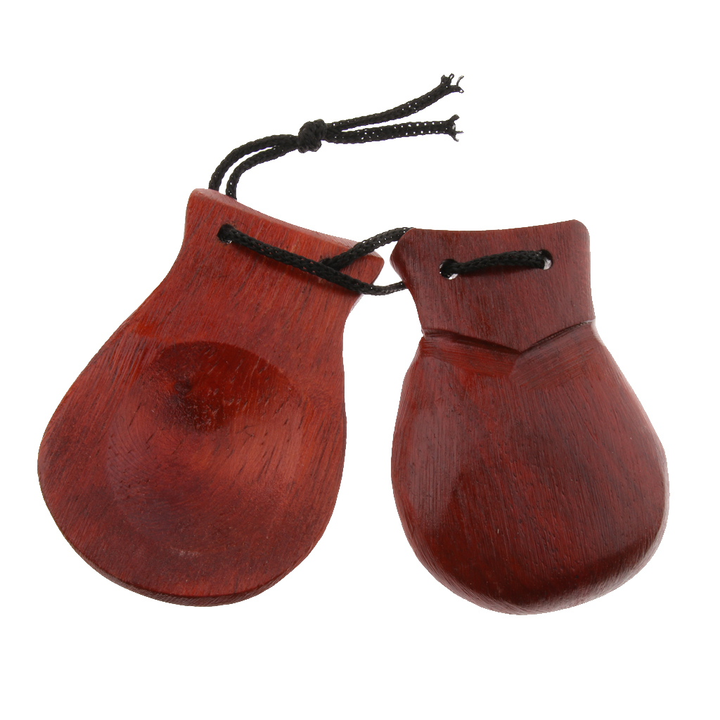 Finest Wood Hand Clapper Castanet Gift For Kids Preschool Early Learning Toy