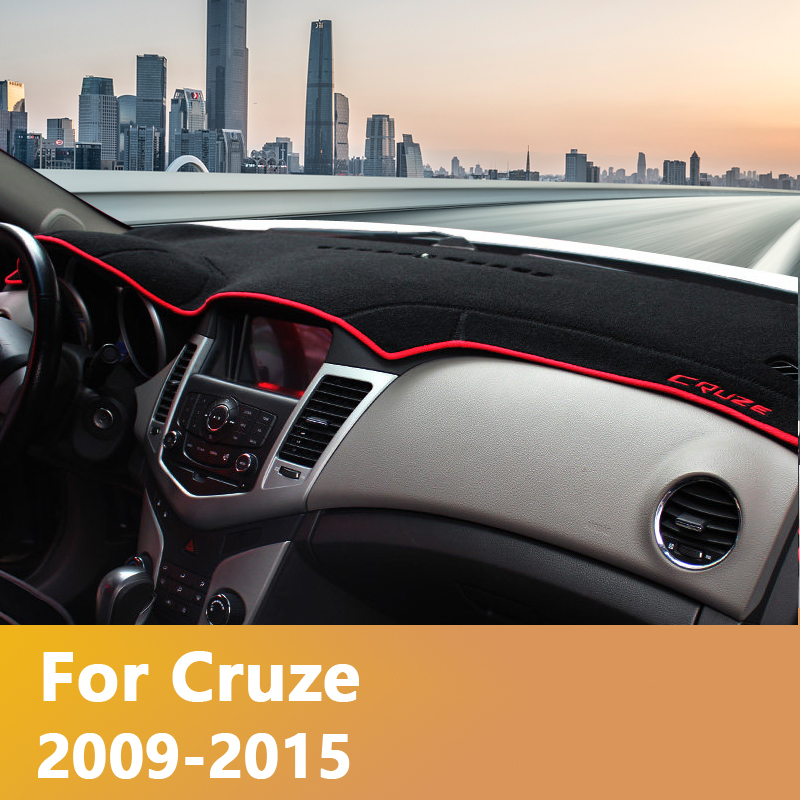 Car Dashboard Cover Dash Mat Sun Shade Pad Carpet Trim LHD For <font><b>Chevrolet</b></font> <font><b>Cruze</b></font> <font><b>2009</b></font> 2010 2011 2012 2013 <font><b>2014</b></font> 2015 2016 2017 2018 image