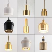 Nordic luzes pingente de ouro pós moderno minimalista restaurante lâmpada pingente metal antigo pendurado iluminação da lâmpada|Luzes de pendentes| |  -