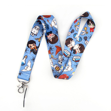 K2064 Wizard School Cute Lanyard Keychain Lanyards for Keys Badge ID Mobile Phone Rope Neck Straps Gift For kids dmlsky kiki s delivery service lanyard keychain anime lanyards for keys badge id mobile phone rope neck straps gifts m3865