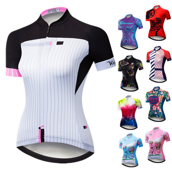 Weimostar Cycling Jersey 2020 Short Sleeve Women Cycling Shirt Breathable mtb Bike Jersey Bicycle Clothing Ropa Maillot Ciclismo orangutan cycling jersey tops summer cycling clothing ropa ciclismo short sleeve mtb bike jersey shirt maillot ciclismo 5114