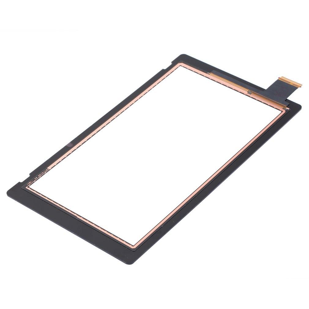Lente exterior delantera LCD para Digitalizador de pantalla táctil, pieza de repuesto para Switch NS LCD para Digitalizador de pantalla táctil, 1 Uds.