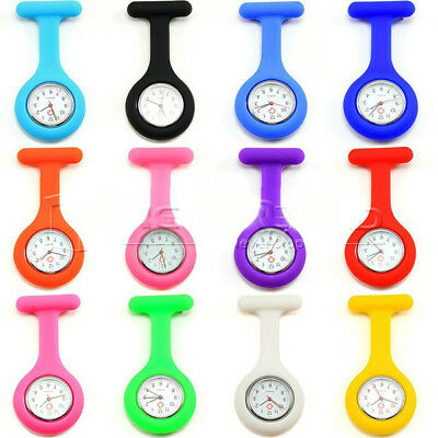 Nurse Watch brooches Silicone Pocket Watch Pocket Watch clock sn 99 S0211 sent from Italy