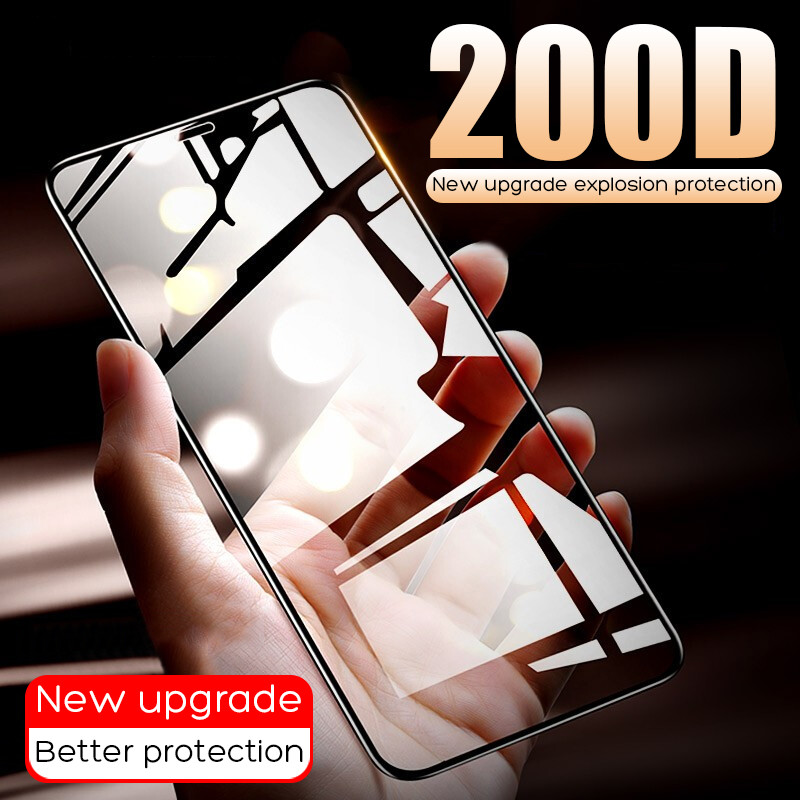 200D Curved Edge Protective Glass On The For IPhone 7 8 6 6s Plus Tempered Screen Protector For IPhone 11 Pro X XR XS Max Glass