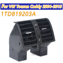 COOYIDOM 1TD819203 Car Air Conditioning Rear Air Vent for VW Touran Caddy 2004-2015 Air Conditioning A/C Air Vent Outlet
