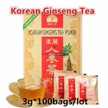 3g 100bags Original Korean Ginseng font b Tea b font Red Ginseng South Korea import Made