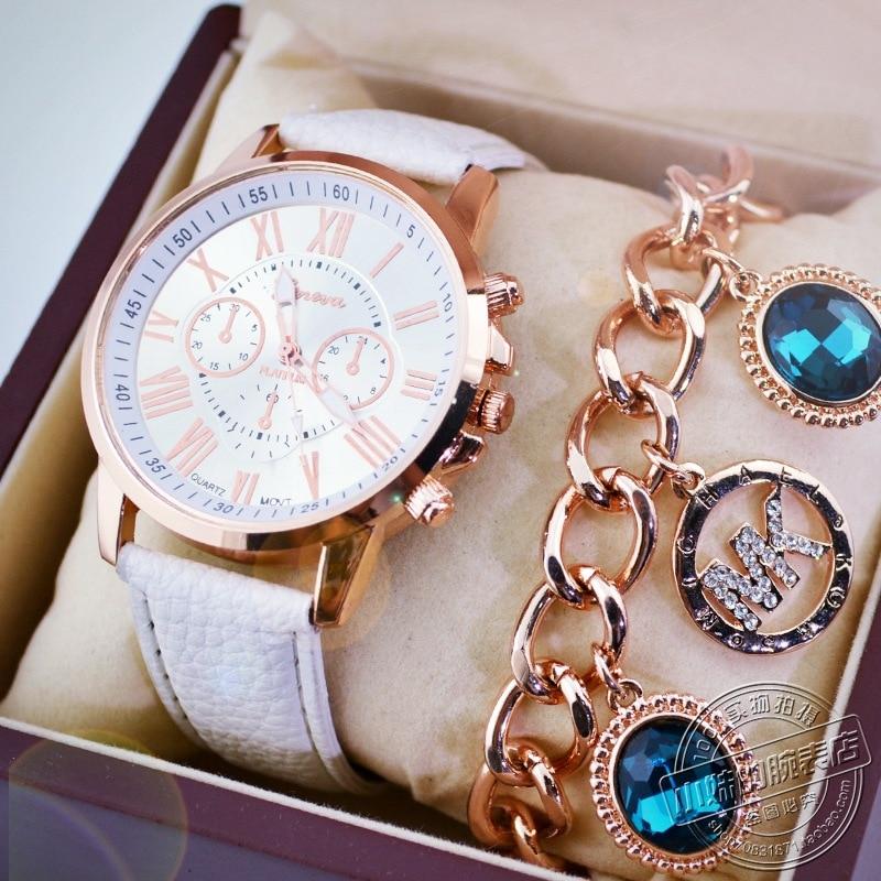 2019 New Luxury Brand Leather Quartz Ladies Watch Ladies Fashion Watch Ladies Watch Clock Relogio Feminino