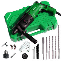 BIG SALE LAOA 24mm Impact Electric Drill with Bits and Accessories