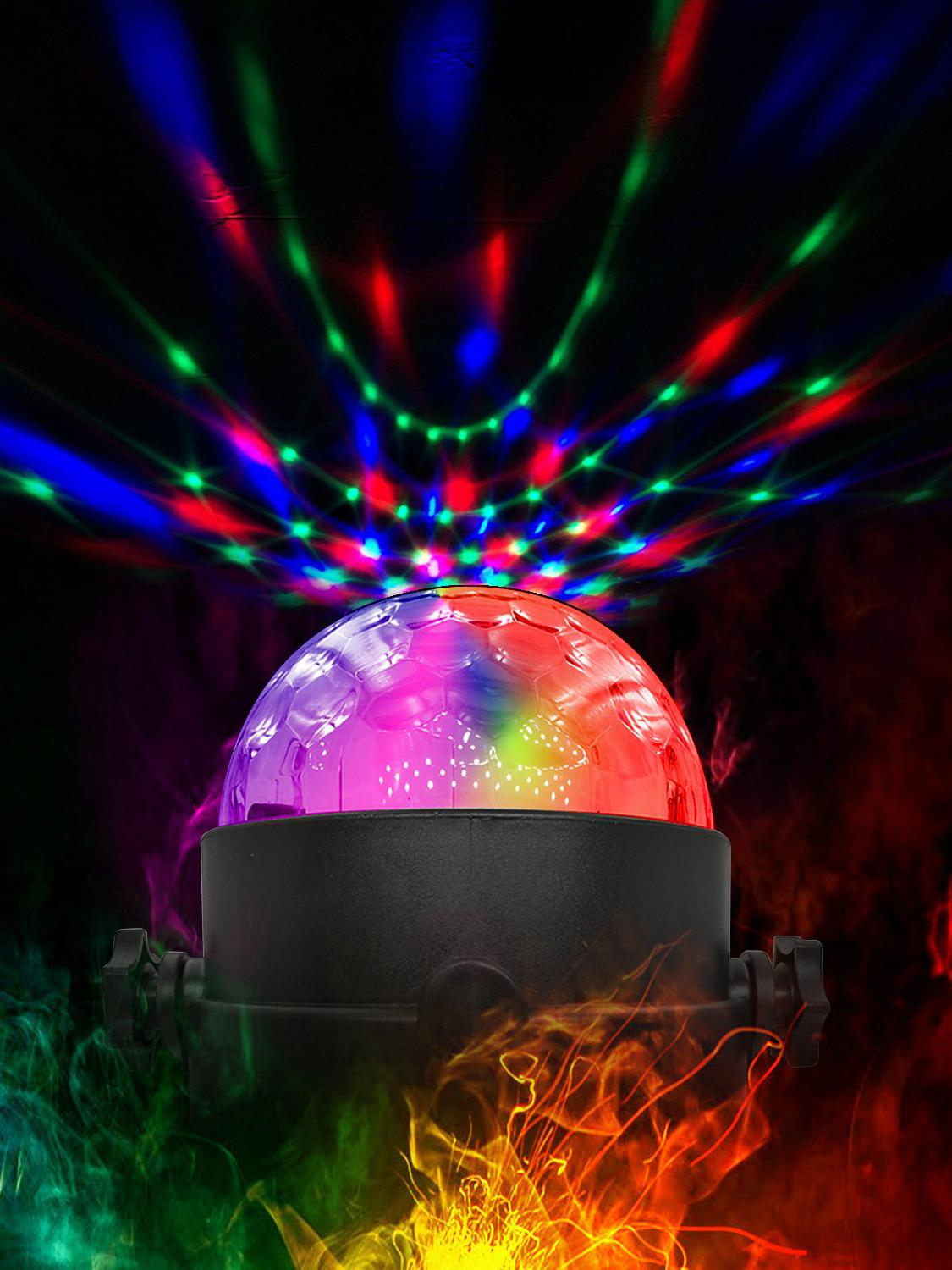 Party-Lights Disco-Ball LED Strobe Christmas Sound Wedding-Show Home-Ktv Activated-Rotating