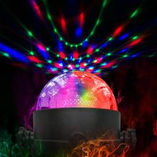 Party-Lights Disco-Ball Strobe Activated-Rotating Xmas Christmas Sound Wedding-Show LED