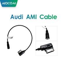 Arabirimi AMI MMI 3.5mm kadın Jack ses AUX adaptör kablosu Audi Carplay kutusu
