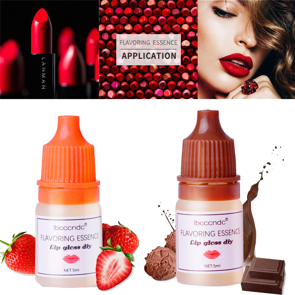Natural Strawberry Chocolate Essence For Handmade Cosmetic Lip Gloss Lipgloss DIY Food Grade Fragrance Flavoring Essential Oils