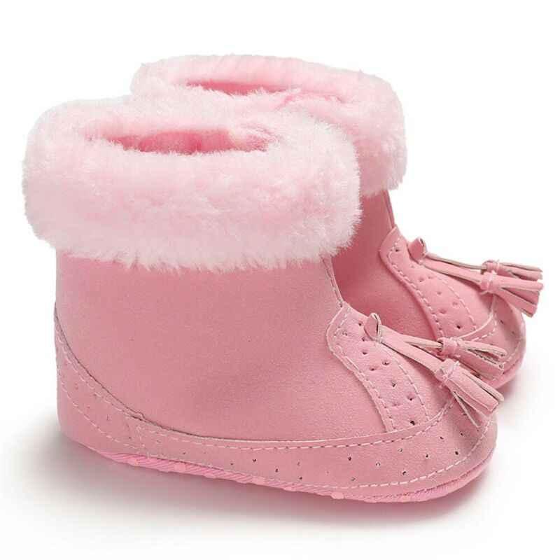 Imcute Baby Junge Mädchen Stiefel Schuhe Für Neugeborene Infant Winter Warme Weiche für 0-18M Baby Schuhe