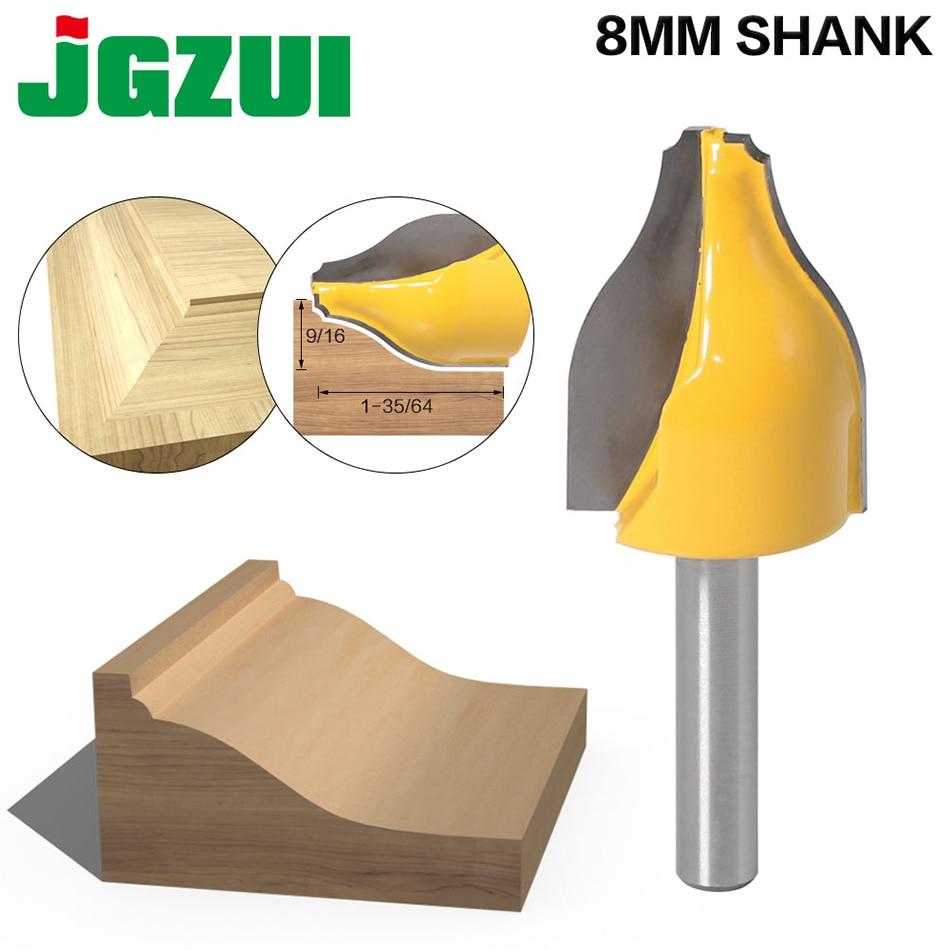 1PC 8mm Shank Panel Raiser Router Bit - Vertical - Ogee Bead - Cutter Woodworking Bits Wood Milling Cutter