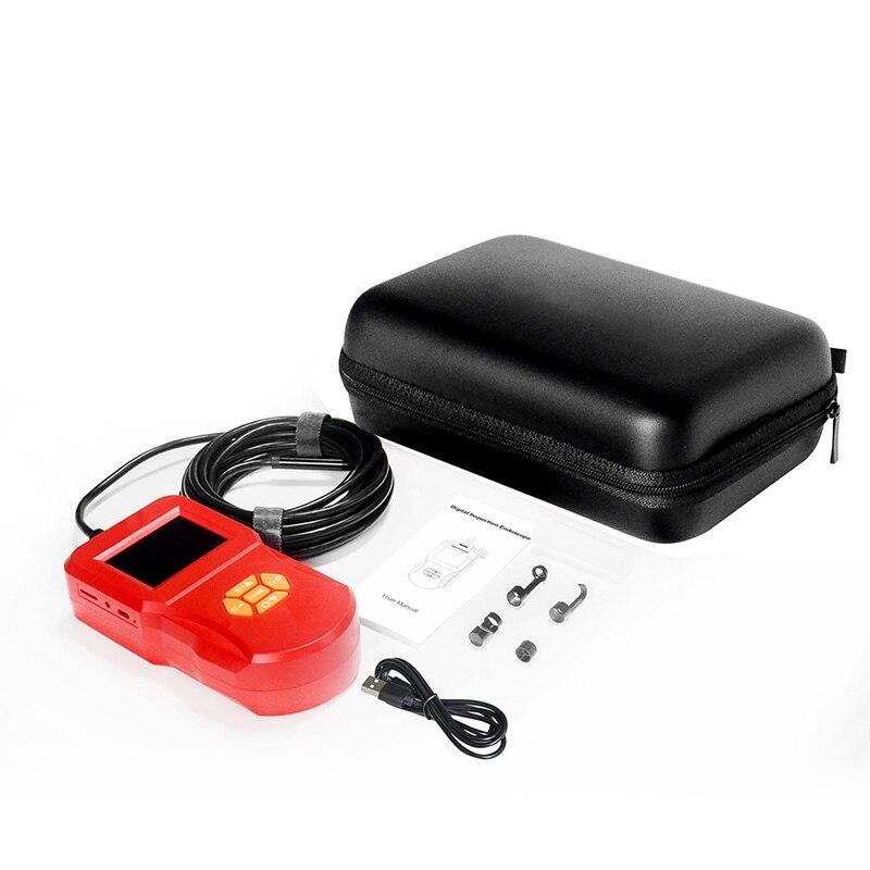 Câmera industrial do endoscópio da tela lcd