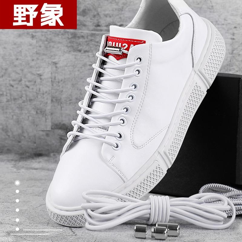 1Pair No Tie Shoelaces Round Elastic Shoe Laces For Kids And Adult Sznurowadla Sneakers Shoelace Quick Lazy Laces About 105cm