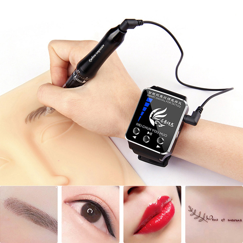 Portable Tattoo Machine Semi-Permanent Machine Full Throw Tattoo Machine One Machine Smart Watch Tattoo Machine
