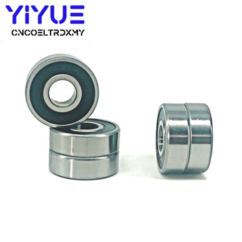 10PCS/lot 608RS Bearing 8*22*7 mm ABEC-5 Skateboard Scooter 608 2RS Skate Roller Ball Bearings Kit Miniature Ball Bearing 8 pcs skateboard scooter roller blade bearings wheels high speed ​​abec 11 double roller skates longboard parts 608 ball bearing
