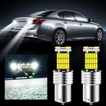 2 шт. BA15S P21W 1156 Canbus автомобиля светодиодный обратный светильник лампочка для audi a4 b6 b7 b8 a3 8p 8v a6 c6 для vw passat b5 b6 b7 Гольф 4 Гольф 7