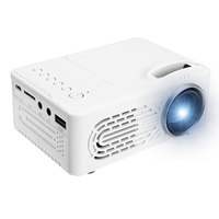 Portable Home 1080P HD Projector USB LED Projector Beamer Systems Media Player Cinema Theater USB TV 3D