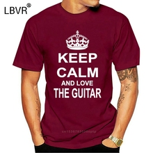 Keep Calm Love Guitar Electric Bass Classical Acoustic Flamenco T-Shirt