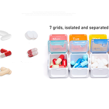Pastillero semanal eco caixa de pílula amigável cueca pillendoos medicina pillendoosje novo com despertador lembrar organizador