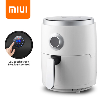 MIUI 3L Oil-Free Air Fryer Oven Digital Touch Electric Fryer MI-CYCLONE 360 °Baking Toaster French Fries Machine EasyClean 1