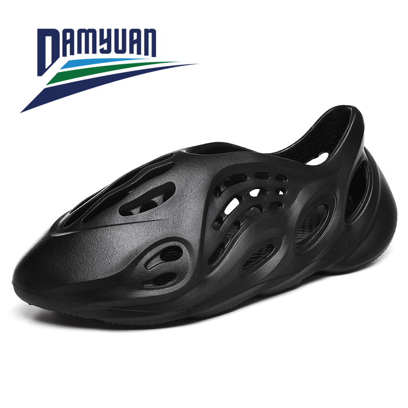 Damyuan 2020 New Fashion Summer Men's Shoes Slippers Summer Lightweight Breathable Comfortable Fabric Casual Shoes Women Size 46