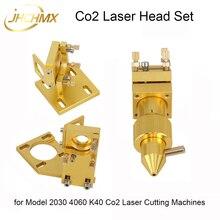 JHCHMX wysokiej jakości Co2 głowica laserowa zestaw do modelu 2030 4060 K40 małe Co2 maszyny do cięcia laserowego Co2 laserowe akcesoria na głowę