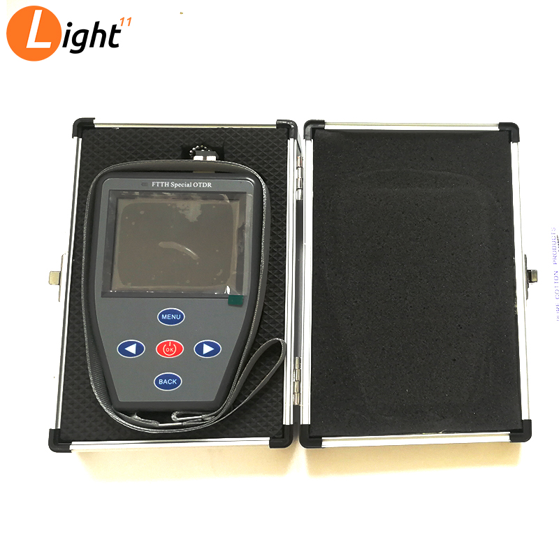 MINI OTDR FTTH  Handheld Optical Power Meter +Red Light Source + Stable Light Source Multifunction Fiber Finding Faul