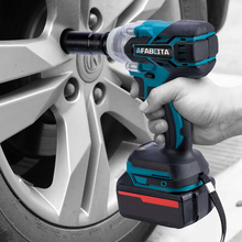 Impact-Wrench Makita-Battery Cordless Electric 21V with Dual-Purpose Portable
