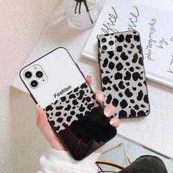 На Алиэкспресс купить стекло для смартфона bonvan tempered glass case for huawei nova 5 5i pro 5t hard cover for huawei nova 6 se leopard lanyard couqe capa