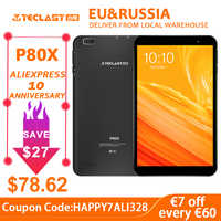Teclast P80X 4 GTablet Android 9.0 SC9863A IMG GX6250 8 zoll 1280x800 IPS Octa Core 1,6 GHz 2 GB RAM 16 GB ROM Dual Kameras Tablet