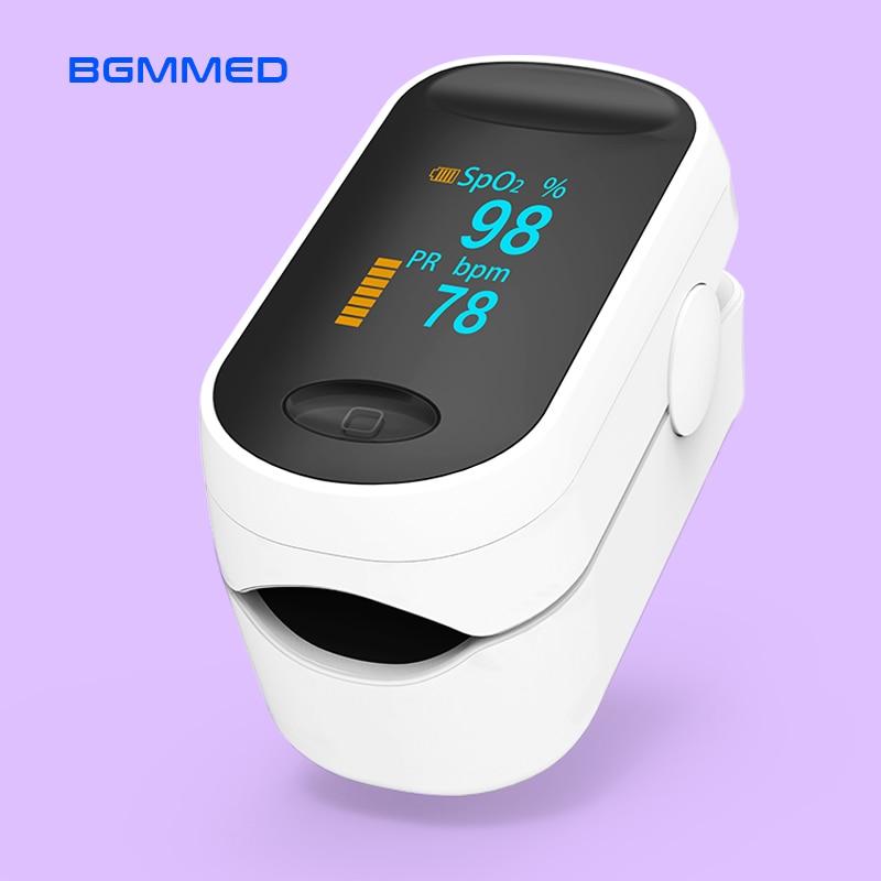 Medical Portable Pulse Oximeter OLED Pulsioximetro blood oxygen Heart Rate Monitor Oximetro Household Health MonitorsBlood Pressure   -