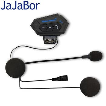 JaJaBor Motorcycle Helmet Bluetooth Headset Handsfree Wireless Headphone Automatic Answering Moto Headset Bluetooth 4.0 v4 0 edr bluetooth motorcycle helmet intercom headset low power consumption earbuts rider 4 1 automatic answering headphone