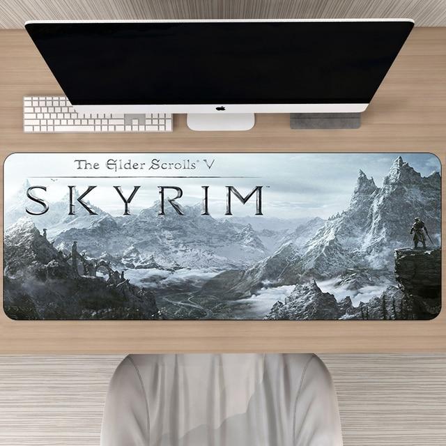 Игровой коврик для мыши 80x30 см Skyrim -